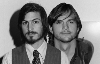 Ashton Kutcher vai ser Steve Jobs no cinema. Não é 1º de abril