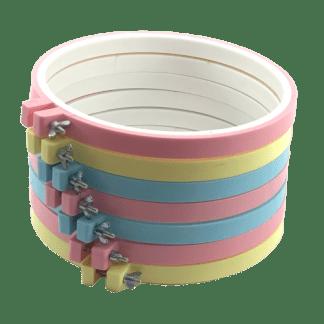 Bastidor de Plástico com Regulagem Diversos Tamanhos Pontos da Cris