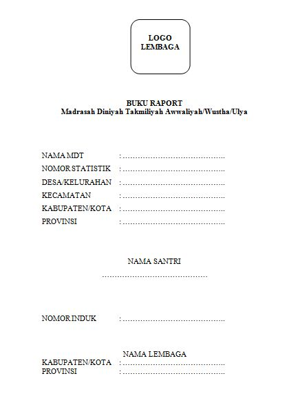 cover raport madin
