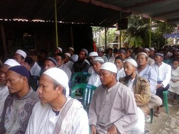 hadirin kegiatan khataman dan pengajian di PP Banu Salamah