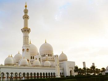 masjid besar kecamatan (ilustrasi)