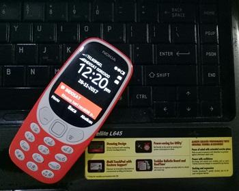 nokia 3310 dan satellite L645