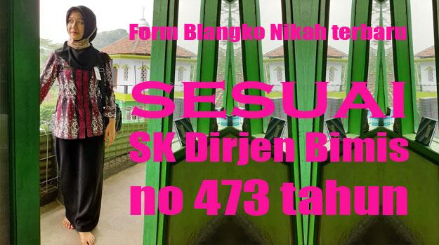 blangko-nikah-baru-sk-dirjen-bimis-no-473