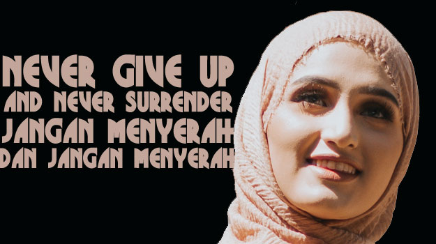 arti never give up and never surrender