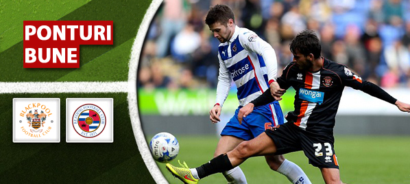 Pronosticuri Fotbal – Blackpool vs Reading – Championship
