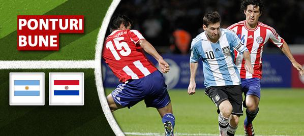 Pronosticuri pariuri Argentina vs Paraguay – Copa America