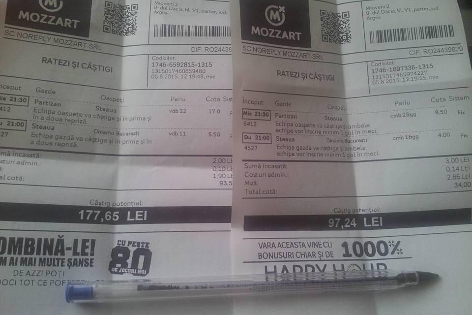 Bilete Pariuri : Champions League & Derby-ul din Liga 1 !