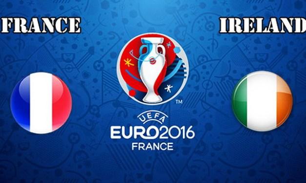 Ponturi pariuri – Franţa – Irlanda – Euro 2016 – Optimi de finală