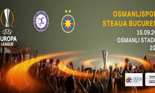 Ponturi pariuri Osmanlispor FK – Steaua Bucuresti – Europa League
