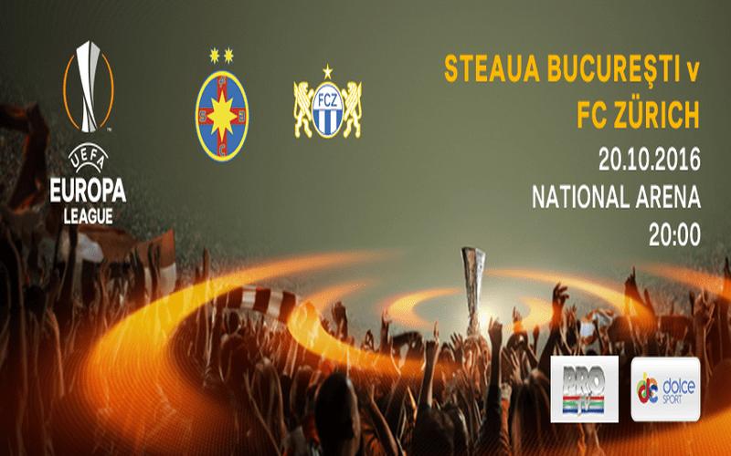 Ponturi pariuri Steaua Bucureşti – FC Zürich – Europa League