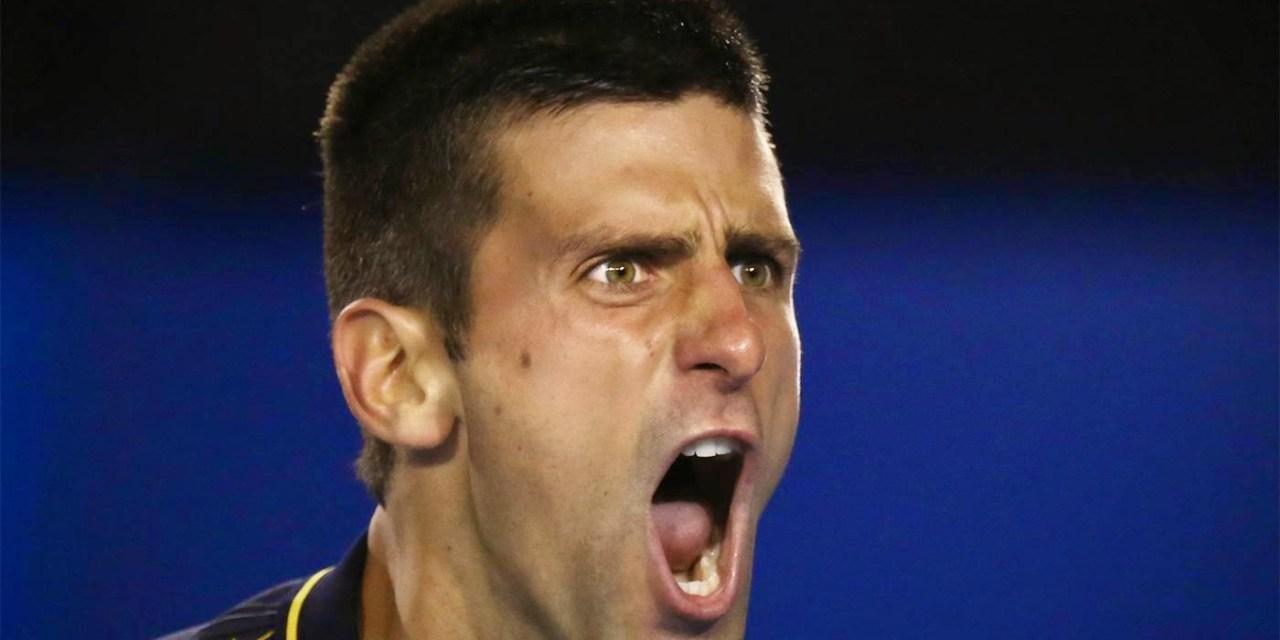 Djokovic castiga turneul de la Doha dupa o descarcare nervoasa