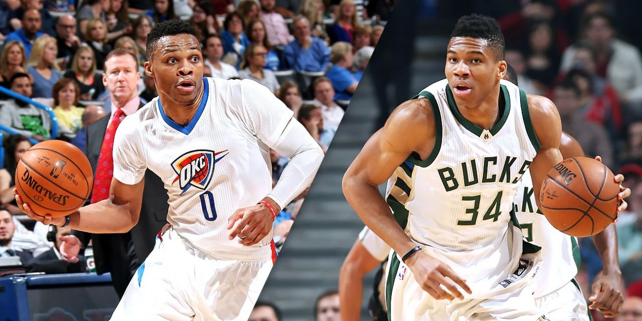 Ponturi NBA: avem spectacol intre The Greek Freak si Mr Triple Double!