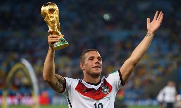 Podolski marcheaza golul victoriei pentru Germania la meciul de retragere de la nationala