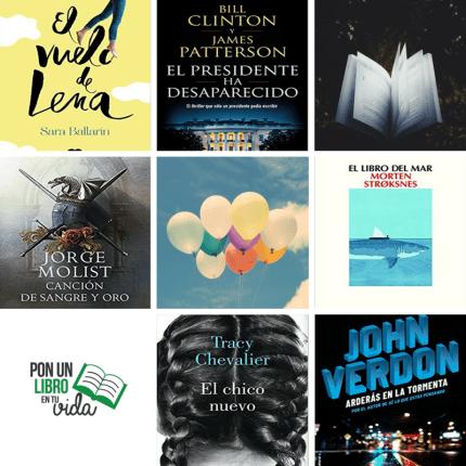 libros nuevos junio 2018
