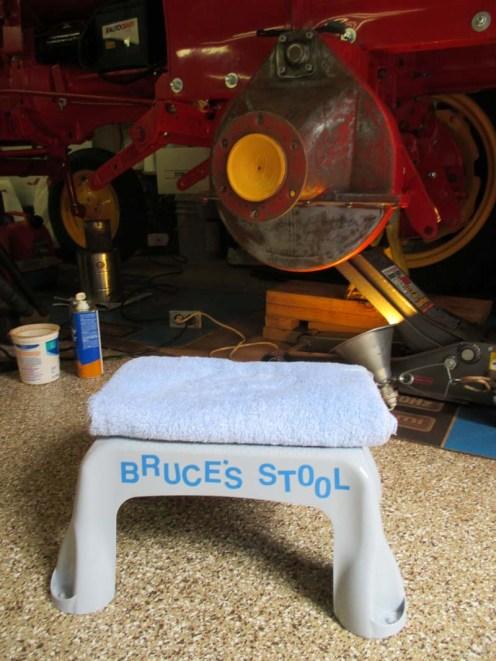 Bruce's Stool