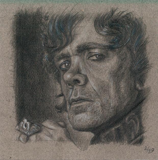 Dessin de Tyrion Lannister