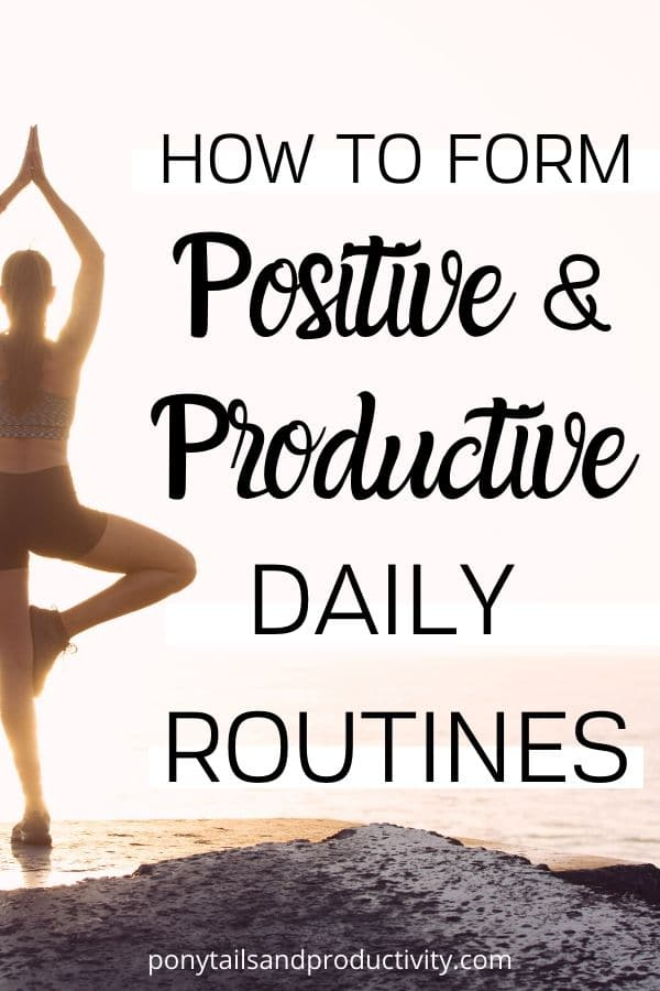 productive daily routines