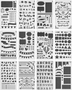 stencils for your bullet journal