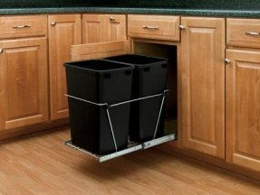 Under Cabinet Trash Can