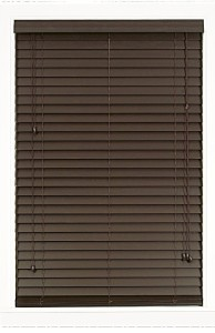 Achim Home Furnishings Madera Falsa 2-Inch Faux Wood Blind