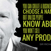 Poodle Mafia Marketing Branding PR for Startups Movements and Personalities - Sir Richard Branson Quote
