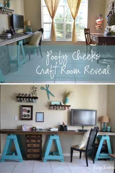 My Craft Room Reveal