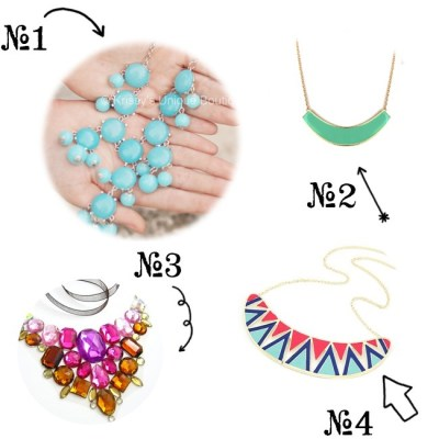 Shop Storenvy Tuesday–Bib Necklaces