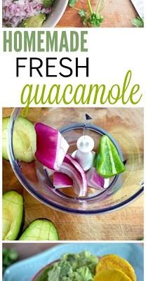 Recipe: Homemade Fresh Guacamole