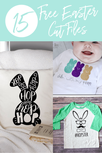 15 Free Easter Cut Files For Silhouette and Cricut Users