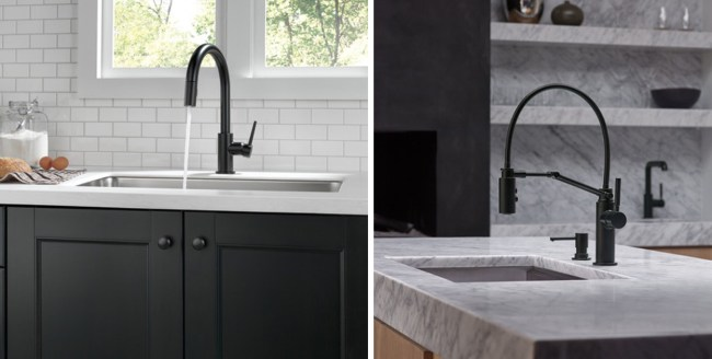 Vote on the faucet for our kitchen sink. Black faucets from eFaucet up for vote round 4.