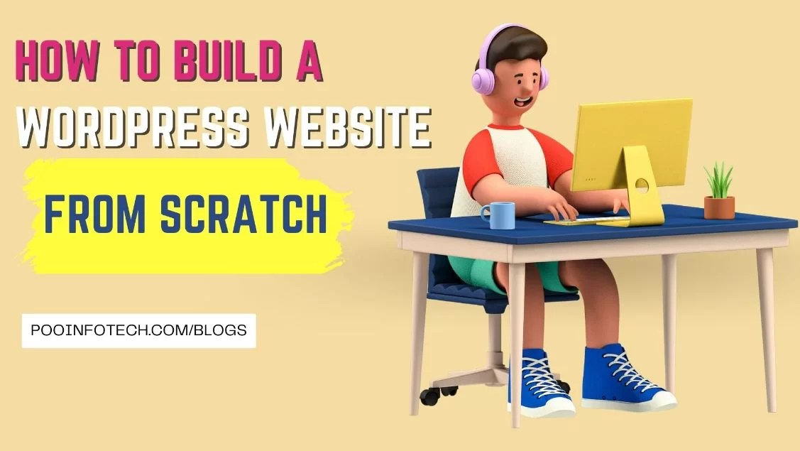 feature image how to build wordpress website from scratch