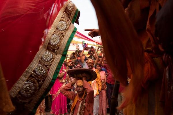Lathmar holi of Barsana