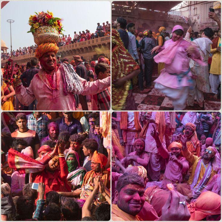 Lathmar Holi celebrations