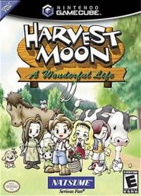 Harvest Moon: A Wonderful Life (Box Art)