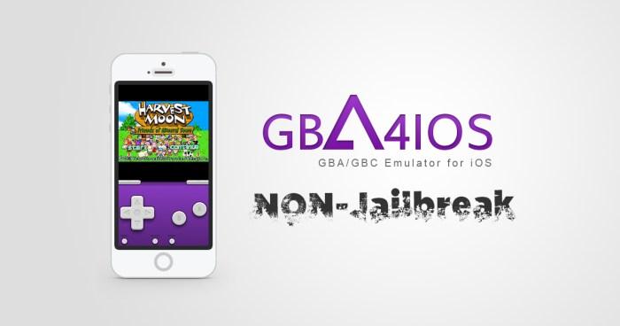 iOS Non-Jailbreak : Emulators GBA/GBC – GBA4iOS