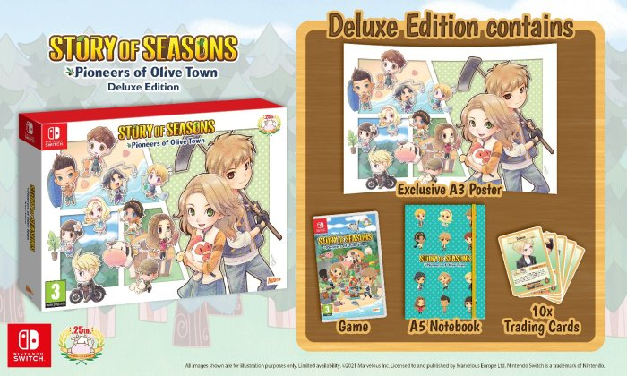 STORY OF SEASONS: Pioneers of Olive Town Deluxe Edition