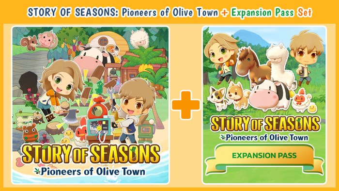 STORY OF SEASONS: Pioneers of Olive Town + Expansion Pass Set