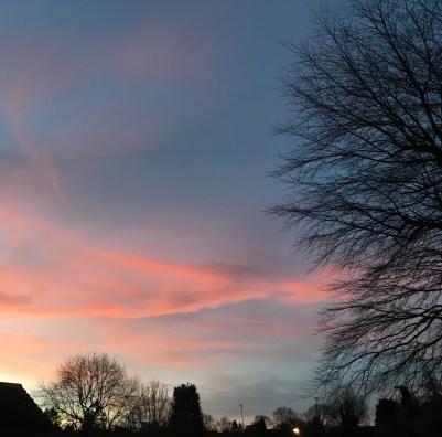Sunrise in Croydon