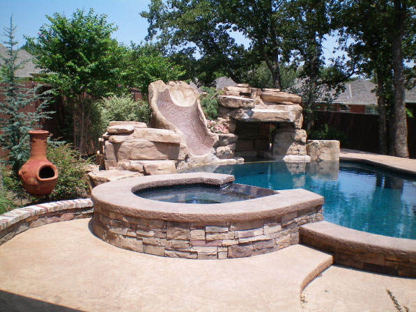 Built In Hot Tub Spa Pool Pros