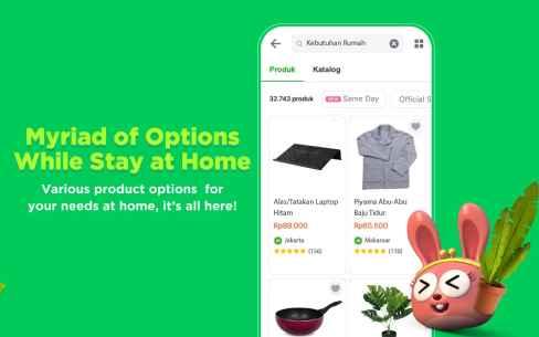 Tokopedia - Online Shopping & Mobile Recharge Screenshot-1