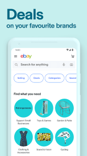 eBay - Buy, sell and save. Discover deals now! Screenshot-1
