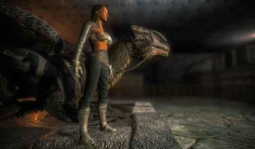 Fire Flying Dragon Simulator Warrior Sky Rider 3D Screenshot-1