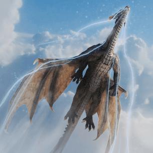 Fire Flying Dragon Simulator Warrior Sky Rider 3D