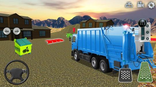 Garbage Truck Simulator Offroad Trash Driver Games