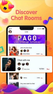 PAGO-Voice Chat,Live Chat,Make New Friends