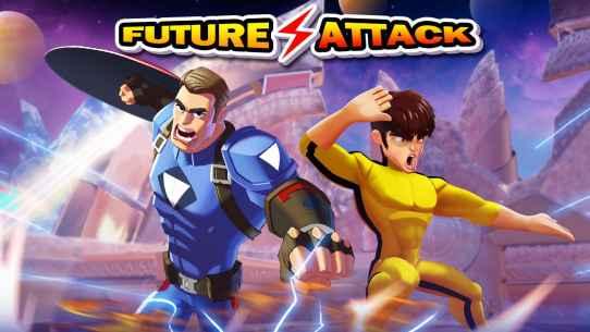 Superhero Captain X vs Kungfu Lee Screenshot-1