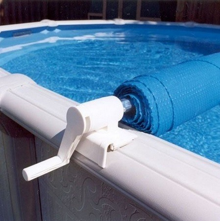 Solar Cover Reel In Pool