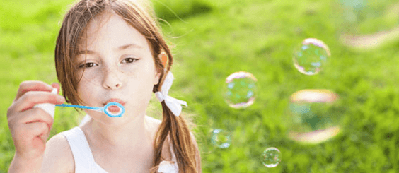 pool party bubble blower favor