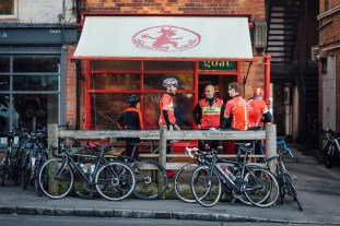 poole wheelers club ride with 299