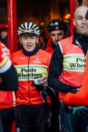 poole wheelers club ride with 311